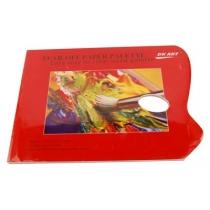 Палитра бумажная универсальная, 40 листов, 80 г/м.кв.(DK19312), D.K.ART & CRAFT