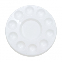 Палитра пластиковая круглая (d:17,8см.), D.K.ART & CRAFT