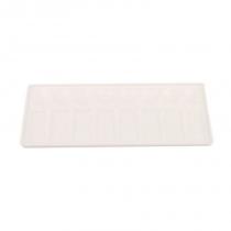 Палитра пластиковая прямоугольная, проф., 11х30,5см., D.K.ART & CRAFT