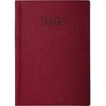 Ежедневник датированный 2020, DUBLIN, красный, А5