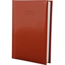 Ежедневник датированный 2019, FLASH, коричневый, А6