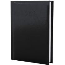 Ежедневник датированный 2018, FLASH, чорный, А6