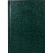 Ежедневник датированный 2020, BASIC, зеленый, А5