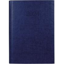 Ежедневник датированный 2020, BASIC, синий, А5