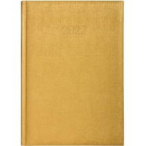 Ежедневник датированный 2020, GALA, золото, А5