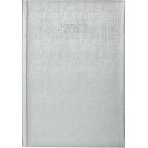 Ежедневник датированный 2018, GALA, серебро, А5