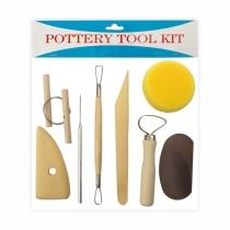 Набор,  8шт., инструменты для скульптуры, (11201), D.K.ART & CRAFT
