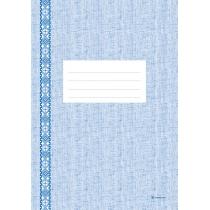 Книга рабочая вертикальная тип бумаги офсетный формат А4 клетка 48 листов