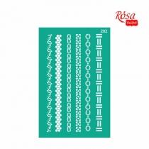 Трафарет многоразовый самоклеющийся, №202, Бордюрный 13 * 20см, Серия