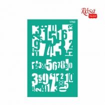 Трафарет многоразовый самоклеющийся, №1750, Фоновый 13 * 20см, Серия