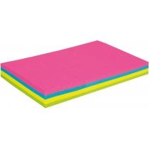Стикеры Economix, 50х75, 4 цвета, 100л.