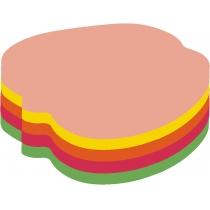 """Стикеры """"Яблоко"""" Economix , 45х50, 4 цвета, 80 листов"""