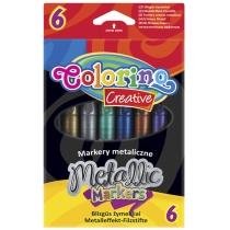 """Маркери """"Metallic'', 6 кольорів"""