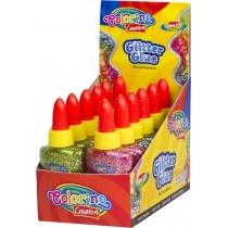 """Клей """"Confetti з блискітками"""", колір асорті"""