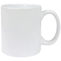 Чашка керамічна євроциліндр Economix PROMO, біла