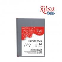 Блокнот A6 (10,5*14,8см), 100 г/м2, 96 арк., ROSA Studio