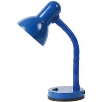 Лампа настольная Kanlux LORA HR-DF5-BLN 60 Вт E27 голубая