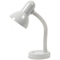 Лампа настольная Kanlux LORA HR-DF5-W 60 Вт E27 белая