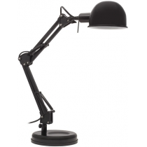 Лампа настольная Kanlux PIXA KT-40-B  40 Вт E14 черная