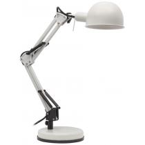 Лампа настольная Kanlux PIXA KT-40-W  40 Вт E14 белая