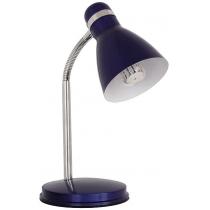 Лампа настольная Kanlux ZARA HR-40-BL  40 Вт E14 синяя