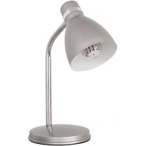 Лампа настольная Kanlux ZARA HR-40-SR  40 Вт E14 серебристая