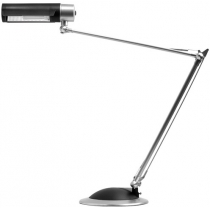 Лампа настільна люмінесцентна KT028-GR IBIS Kanlux 20 Вт E27 сіра