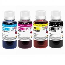 Комплект чернил для Canon PG-510/CLI-521, BK/С/M/Y, Color Way, 4х100мл.