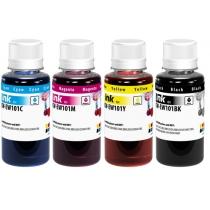 Комплект чернил для  Epson L-100/200, BK/С/M/Y, Color Way, 4х100мл.