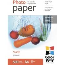 Фотобумага Color Way A4 , матовая, 108г/м, 500 л.