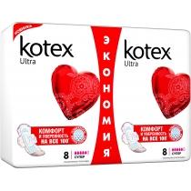 Гигиенические прокладки Kotex ультра Драй Супер дуо 16