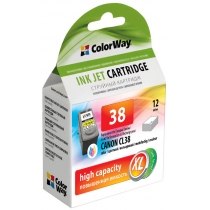 Картридж струйный CANON CL38  Color Way