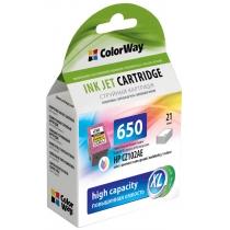 Картридж струйный HP CZ102AE (No.650) Color Way