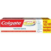 Зубная паста Colgate Total 12 Чистая Мята 125мл