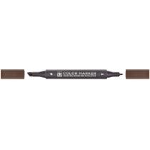 Маркер художній двосторонній для ескизівSTA 3202, горіх коричневий