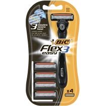 Бритва з 4 змінними касетами BIC Flex&Easy