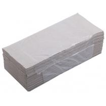Полотенца макулатурные серые V-сложения 160 штук