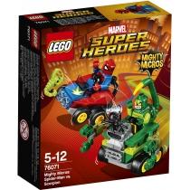"""Конструктор Лего """"Серія Mighty Micros:  Людина-павук проти  Скорпіона"""""""