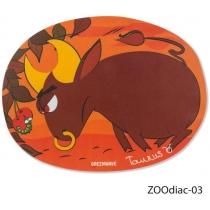 Коврик для мыши GREENWAVE ZOOdiac-03