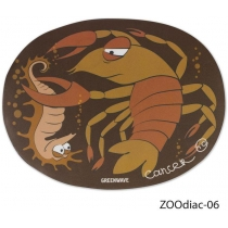 Килимок для миші GREENWAVE ZOOdiac-06