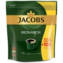 """Кава розчинна Jacobs """"Monarch"""" 400 г економ пакет"""