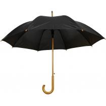 Зонт трость автомат. TWIST, черный
