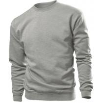Толстовка мужская ST 4000, размер XXL, цвет: серый