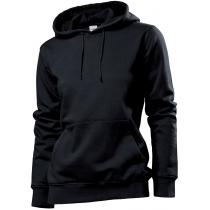 Толстовка женская ST 4110, размер XL, цвет: черный
