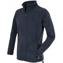 Куртка флісова чоловіча ST 5030, розмір S, колір: темно-синій