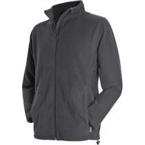Куртка флисовая мужская ST 5030, размер S, цвет: серый насыщеный