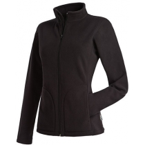 Куртка флисовая женская ST 5100, размер M, цвет: черный