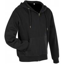 Байка з капюшоном мужская ST 5610, размер XXL, цвет: черный