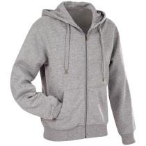 Байка з капюшоном мужская ST 5610, размер XXL, цвет: серый