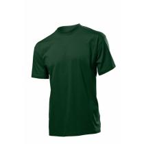 Футболка мужская ST 2000, размер S, цвет: темно-зеленый